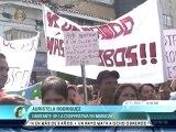 Vecinos de barrio aragüeño protestaron en contra de la inseguridad tras asesinato de profesor