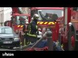 Paris XVIIIe : violent incendie dans un immeuble insalubre