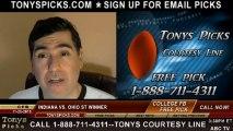 Ohio St Buckeyes vs. Indiana Hoosiers Pick Prediction College Football Odds