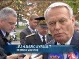 """Jean-Marc Ayrault """"touché par le courage"""" de Dominique Bertinotti - 22/11"""