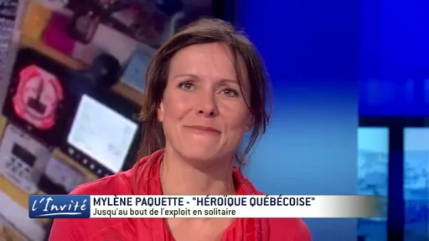 """Mylène PAQUETTE : """"Ma folle traversée de l'Atlantique à la rame"""""""
