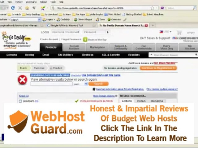 IMA 03 domain and hosting – buying your own domain names 01