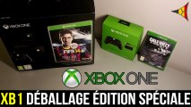 XBOX ONE // Déballage de la Console, Kinect, Manettes, jeux... (Unboxing) + COD Ghosts   FPS Belgium