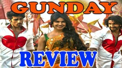 Gunday - Teaser REVIEW - Ranveer Singh | Arjun Kapoor | Priyanka Chopra | Irrfan Khan