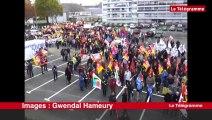Saint-Brieuc. Les premiers manifestants se rassemblent