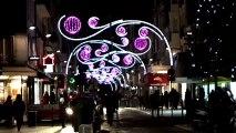 Les commerçants de Vincennes illuminent la Ville Inauguration des illuminations de Noël à Vincennes avec Laurent Lafon