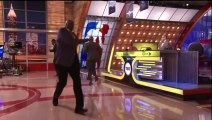 Shaquille O'Neal Takes a Tumble Live on Inside the NBA