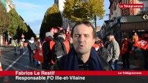 Rennes. Pacte social. FO manifeste... Mais seulement pour l'emploi