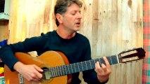 Les amoureux des bancs publics - Georges BRASSENS reprise (guitar & vocal cover)
