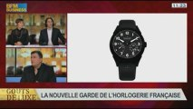 La nouvelle garde de l'horlogerie française, dans Goûts de luxe Paris - 24/11 7/8