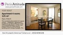 3 Bedroom Apartment for rent - Porte Maillot/Palais des Congrès, Paris - Ref. 6417