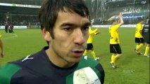 24-01-10 Giovanni van Bronckhorst na VVV Venlo - Feyenoord