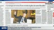 BFM Politique: L'interview de BFM Business, Marine Le Pen répond aux questions de Hedwige Chevrillon - 24/11