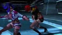 Vidéo test 1 de Girl Fighting - Chaos VS Chaos