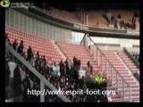 Nice Saint-Etienne Video Incidents supporters Nice et ASSE à Allianz Riviera 8 blessés