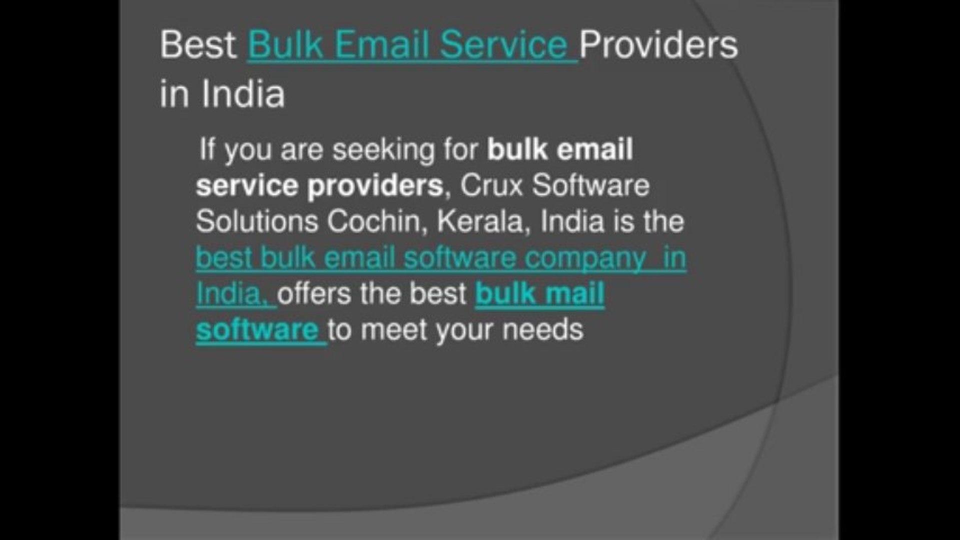 Bulk Email Software | http://www cruxmailer com