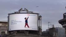 Panneau publicitaire magique - British Airways