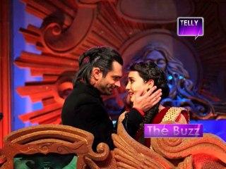 Qubool Hai : Karan Singh Grover & Surbhi Jyoti shoot a ROMANTIC DANCE Sequence - 25th November 2013