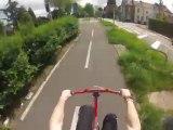 Wheeling sans roue avant sur 5 kilomètres