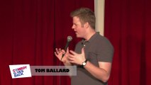 Jokes from Sydney: Tom Ballard on being classy and eating fast food