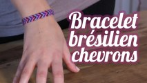 Bracelet brésilien en chevrons ou V