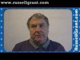 Russell Grant Video Horoscope Capricorn November Tuesday 26th 2013 www.russellgrant.com