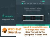Preview Servereza - Hosting Business Premium PSD Theme PSD Templates - Technology Template Download