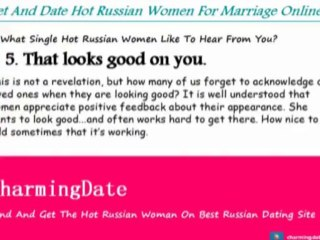 CharmingDate.com: Words women and men want to hear from their dating partner