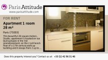 Studio Apartment for rent - Centre George Pompidou, Paris - Ref. 6270