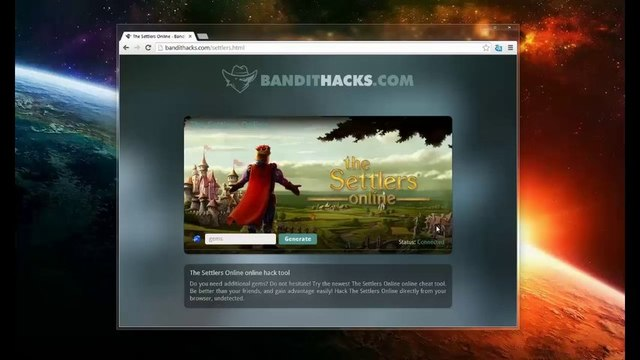 Gratuit The Settlers Online Hack téléchargement Gratuit Free Hack Cheat - Gems / Gemmes ( Updated 2013 )