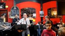 """JP BARASTIER en Live au Café du Théâtre avec ses musiciens - """"La salsa du démon"""" Le Splendid"""