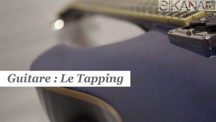 Cours de guitare : Le Tapping