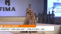 Norbert Akou (Côte d'Ivoire / USA) aux défilés panafricains du Fima 2013