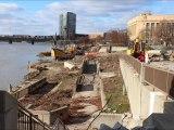 Scioto Riverfront Park construction begins in Columbus Ohio