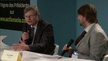 Thierry Lambert, Président-Directeur général de NATUREX - Salon Actionaria 2013 : Agora des Présidents