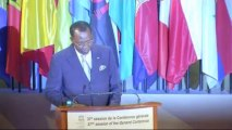 DISCOURS - Idriss Déby Itno - Tchad