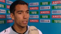 25-04-10 Giovanni van Bronckhorst na Ajax - Feyenoord