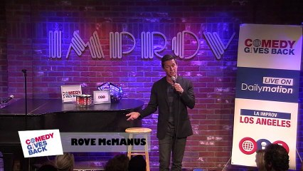 Jokes from Los Angeles: Rove McManus doesn't understand American tipping