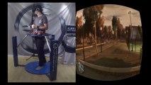Jouer à GTA 4 avec Cyberith Virtualizer + Oculus Rift + Wii Mote