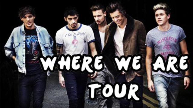 One Direction Where We Are Tour Dates North America - ALL DETAILS