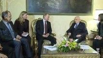 Napolitano - Incontro con il Presidente della Federazione Russa Putin (26.11.13)
