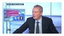 """Le Maire : """"La retraite chapeau de Varin, c'est indécent"""""""