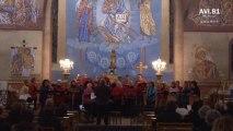 Chorale occea et cuivres de St Elois de St Juéry dans l'eglise  Alban