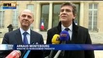 """Montebourg sur la retraite chapeau de Varin: """"les modalités doivent être reconsidérées"""" - 27/11"""