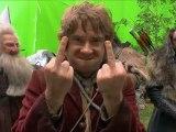 Le Hobbit : les doigts d'honneur de Martin Freeman en vidéo