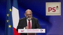 Robert Hue au grand meeting de la Gauche : Défendre la République contre les extrémismes