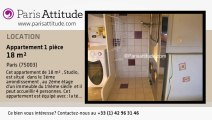 Appartement Studio à louer - Centre George Pompidou, Paris - Ref. 7629