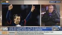 Le Soir BFM: Ligue des Champions: le PSG est qualifié pour les huitièmes de final - 27/11