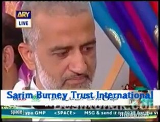 Maryam`s poem for sarim burney at Good Morning Pakistan Nida yasir show ARY digital