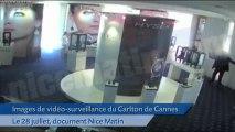 Braquage du Carlton de Cannes: Les images